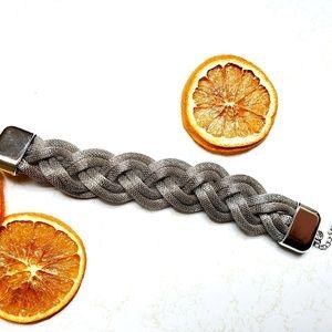Jewelry - Chunky Braided Mesh Chain Bracelet